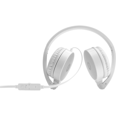 HP stereo H2800 Headset - Zilver,Wit
