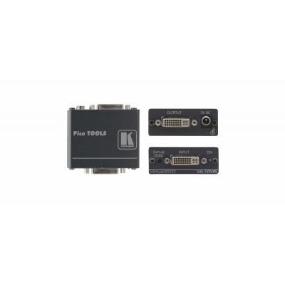 Kramer Electronics DVI EDID Emulator AV extender - Zwart