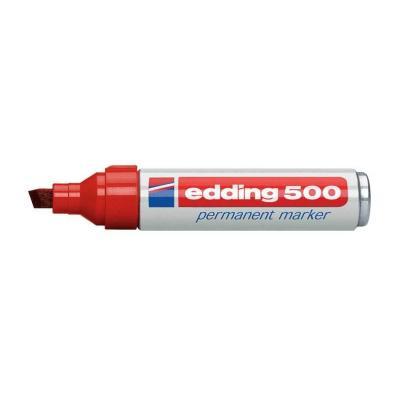 Edding marker: 500 - Rood, Geel