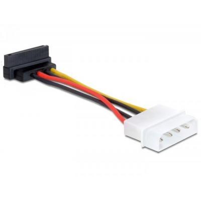 DeLOCK Cable Power SATA HDD > 4 pin male – angled - Multi kleuren