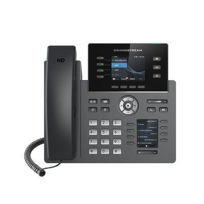 Grandstream Networks GRP2614 IP telefoon - Zwart