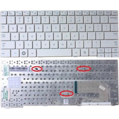 Samsung toetsenbord: US/International, , White - Wit, QWERTY
