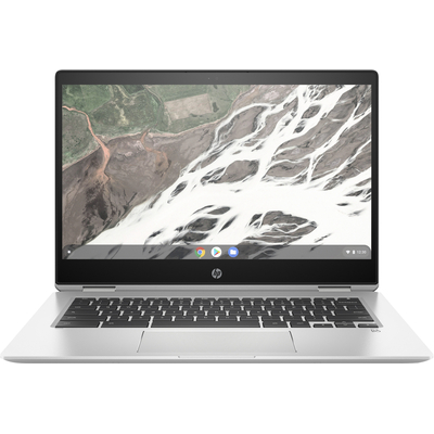 HP Chromebook x360 14 G1 Laptop - Zilver - Demo model