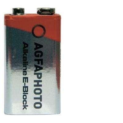 Agfaphoto batterij: 6LR61 - Grijs, Rood