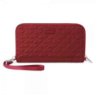 Pacsafe portemonnee: RFIDsafe W250 - Rood
