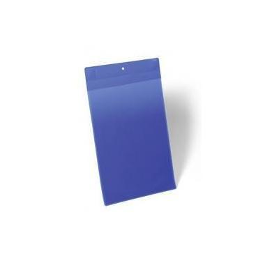 Durable A4, 210 x 297 mm, 10 pcs Etikethouder - Blauw