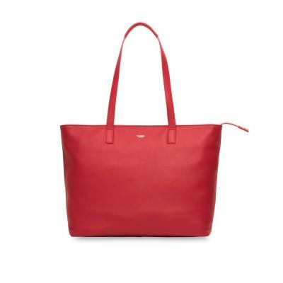 Knomo vrouwen-handtas: Maddox - Rood