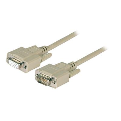 EFB Elektronik HD-DSub 15 2m VGA kabel  - Beige