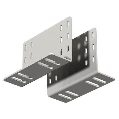 SmartMetals Houtenbalk adapter Muur & plafond bevestigings accessoire - Grijs, Zilver