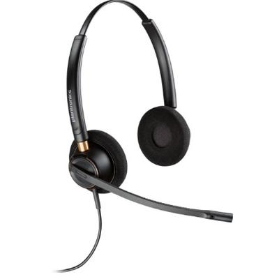 POLY HW520D Headset - Zwart
