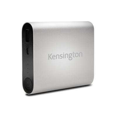 Kensington powerbank: 10400 USB mobiele oplader (zilver)