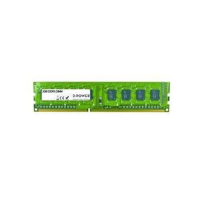 2-power RAM-geheugen: 2GB DDR3 DIMM - Groen