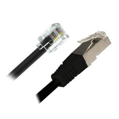 Cisco DSL Dual Netwerkkabel - Zwart