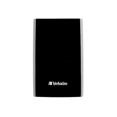 Verbatim externe harde schijf: Store'n'Go Ultra Slim 500GB USB 3.0 - Zwart