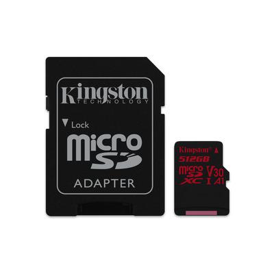 Kingston Technology Canvas React flashgeheugen - Zwart, Rood