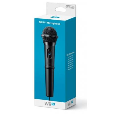 Nintendo spel accessoire: Wii U Microphone - Zwart