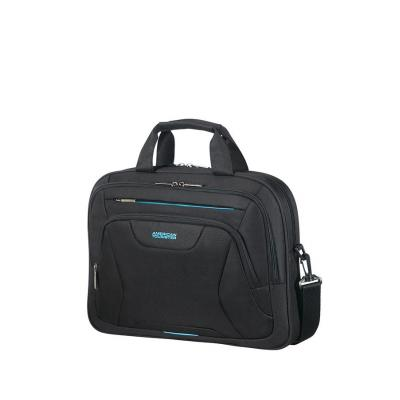 American Tourister Laptop Bag 15.6″, Black laptoptas - Zwart