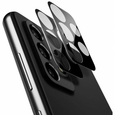 Spigen Tempered Glass, Galaxy A72, Anti-fingerprint, Easy application - Zwart,Transparant