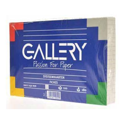 Gallery indexkaart: PRIKMATJE 150X150X13MM