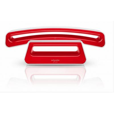 Swissvoice dect telefoon: ePure 2 - Rood, Wit