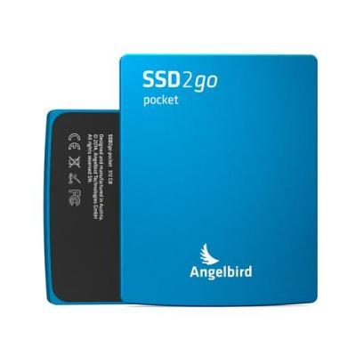 Angelbird technologies : SSD2go Pocket 512GB - Blauw