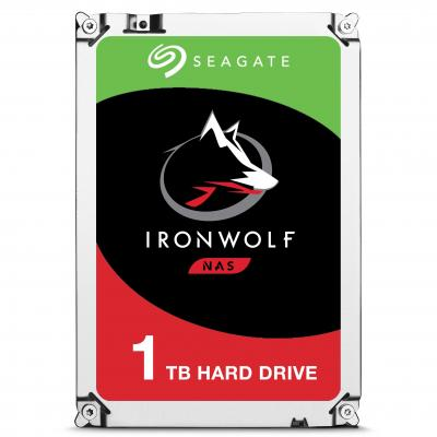 Seagate interne harde schijf: NAS HDD IronWolf 1TB