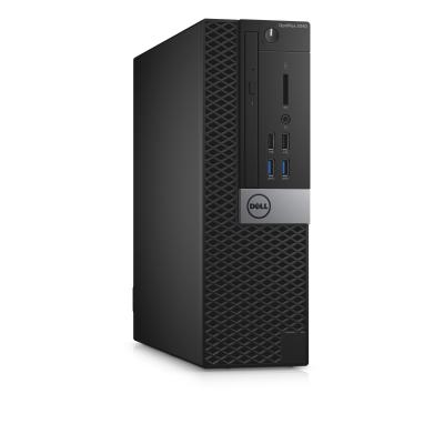 Dell pc: OptiPlex 3040 - Core i5 - 8GB RAM - 128GB - Zwart