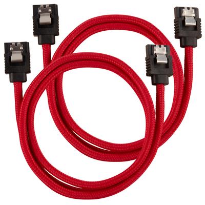 Corsair CC-8900254 ATA kabel - Zwart, Rood