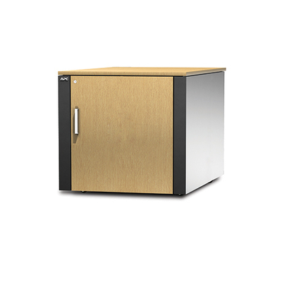 "APC NetShelter CX AR4000MV geventileerde en geluidsarme ""Server Room in a Box"" Rack - Beige, Grijs"