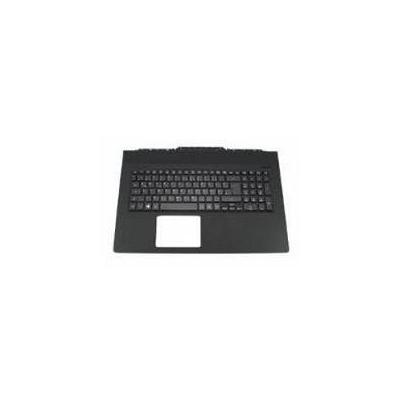 Acer notebook reserve-onderdeel: Top Cover/Keyboard (Nordic), matt black - Zwart