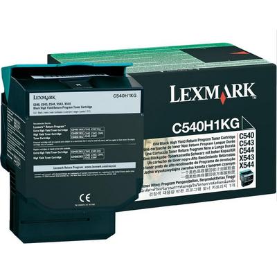 Lexmark C54x/X54x 2,5K zwarte retourpr.c. Toner