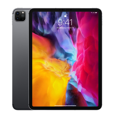 Apple iPad Pro 11-inch (2020) Wi-Fi + Cellular 256GB Space Grey Tablet - Grijs