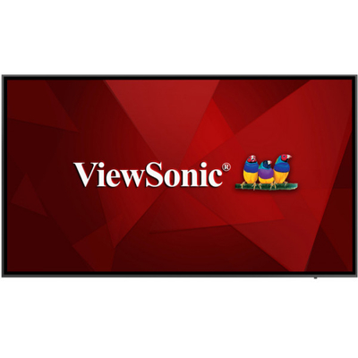 "Viewsonic 75"", TFT LCD, 4K, 16:9, 450 cd/m², 1200:1, 8 ms, 178/178, 16W x2, 100-240 VAC, 29.3 kg Public ....."