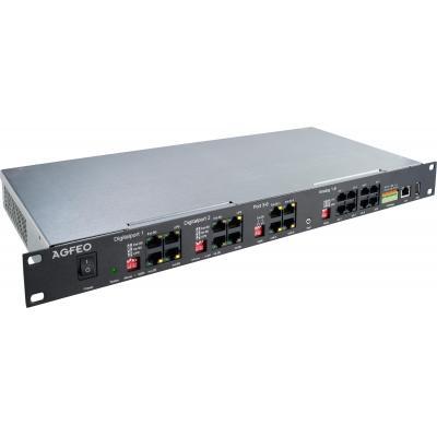 Agfeo netwerkbeheer apparaat: ES 522 IT - Zwart