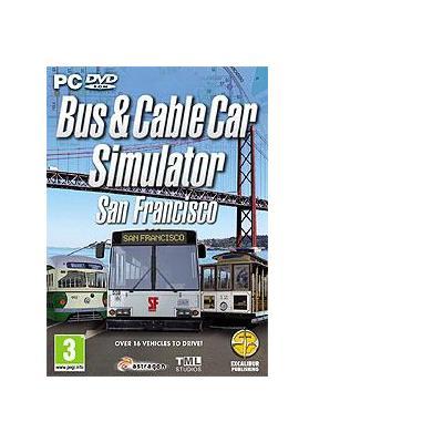 Excalibur game: Bus & Cable Car Simulator - San Francisco