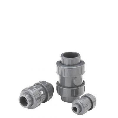 Fiap : PVC cone check valve 90 - Grijs