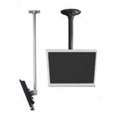 "Peerless f/ 13"" - 29"" Screens, Capacity 40 lb, Tilt -5° -20°, Swivel 360°, Silver TV standaard - Zilver"