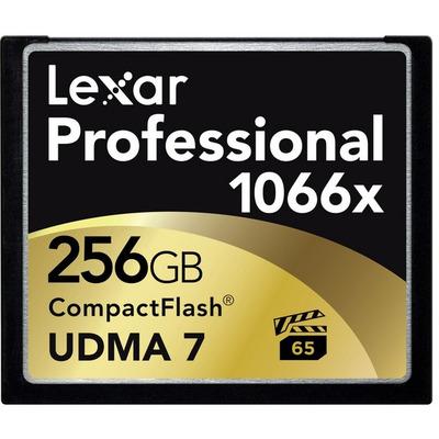 Lexar CF 256GB Flashgeheugen - Zwart