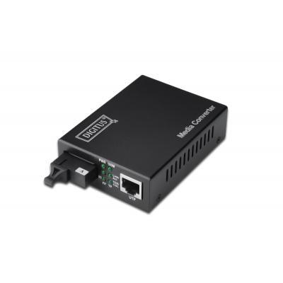 Assmann electronic media converter: DIGITUS DN-82122 - Zwart