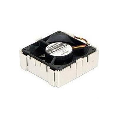 Supermicro Fan w/ Housing Hardware koeling - Beige, Zwart
