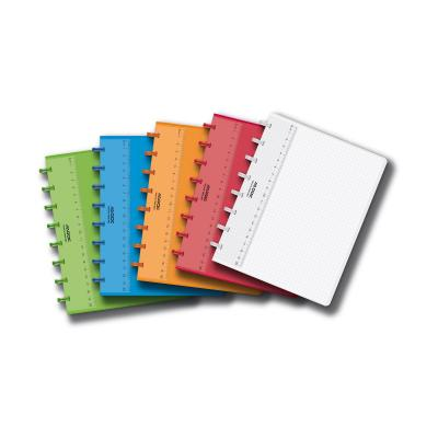 Adoc COLORLINES A5 Schrift 144p Geruit (Willekeurige kleur) Schrijfblok - Multi kleuren