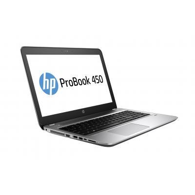 Hp laptop: ProBook 450 G4 - Zwart, Zilver