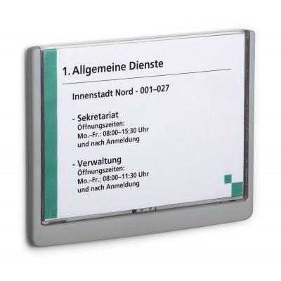 Durable naambord : A5, 210 x 148.5 mm - Grafiet