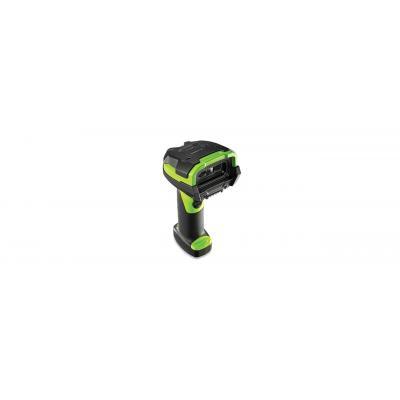 Zebra barcode scanner: LI3678 - Zwart, Groen