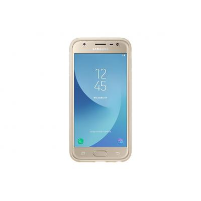 Samsung mobile phone case: Jelly cover Galaxy J3 (2017), Gold - Goud