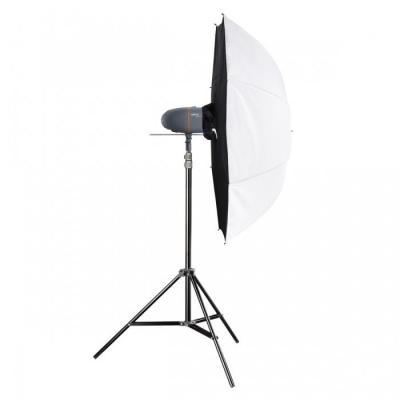 Walimex fotostudie-flits eenheid: pro Newcomer Studioset Mini 150 - Zwart, Grijs