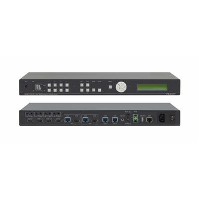 Kramer Electronics 4K, 10.2 Gbps, 60Hz, HDMI, Ethernet, HDBaseT Video switch - Zwart