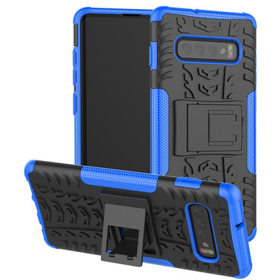 CoreParts MOBX-COVER-S10SM-G973-BLU Mobile phone case - Blauw