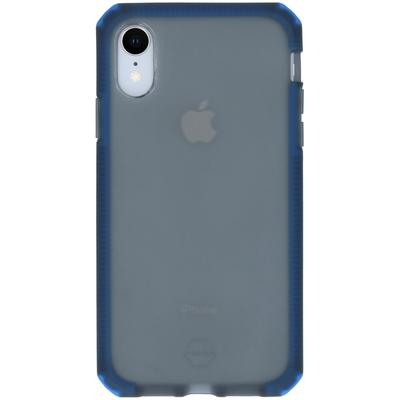 ITSKINS Supreme Frost Backcover iPhone Xr - Zwart / Donkerblauw - Donkerblauw / Dark Blue Mobile phone case