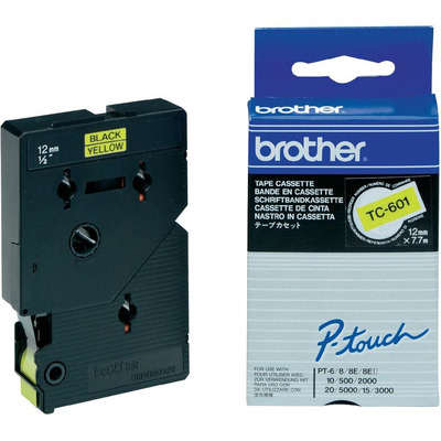 Brother Labeltape 12mm Labelprinter tape